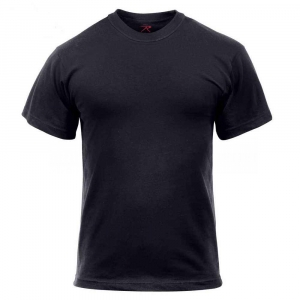 Футболка армейская Rothco Military T-Shirt Black