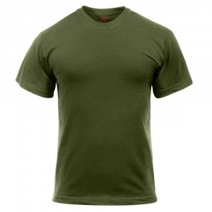 Футболка армейская Rothco Military T-Shirt Olive Drab